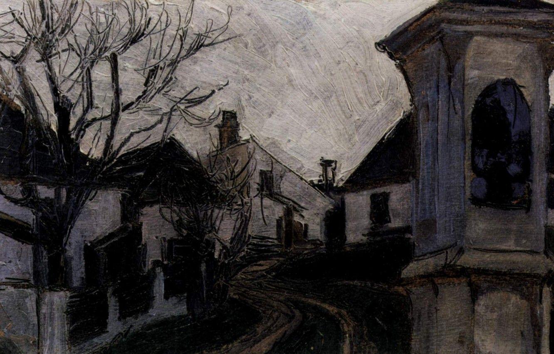 1332x850 Hình nền tu viện, Egon Schiele, nhà và địa điểm