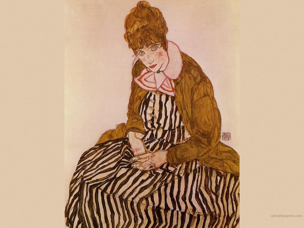 1024x768 Egon Schiele Hình nền, Tranh, Hình nền, Hình ảnh
