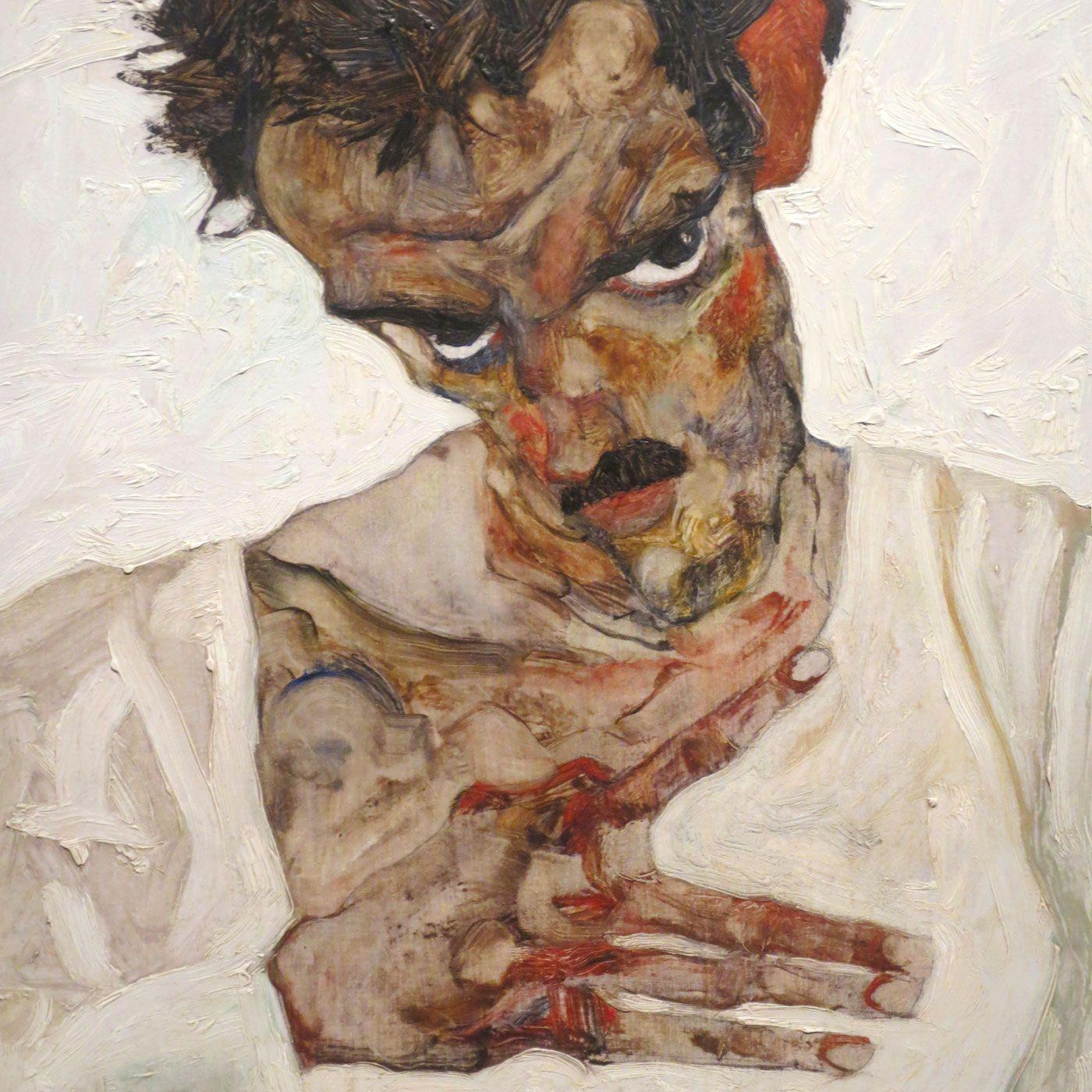 1400x1400 Egon Schiele - Freedom of the Ego - Thomas Michel