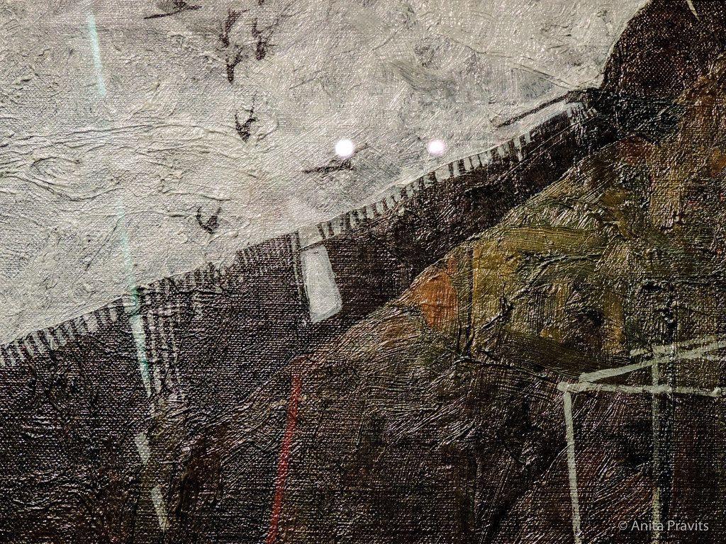 1024x768 Egon Schiele: Rabenlandschaft / phong cảnh có quạ, 191