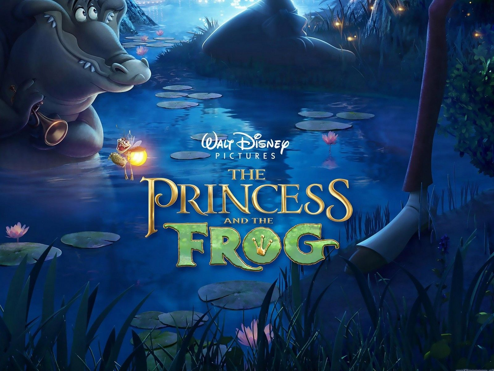 The Princess And The Frog Wallpapers Top Free The Princess And