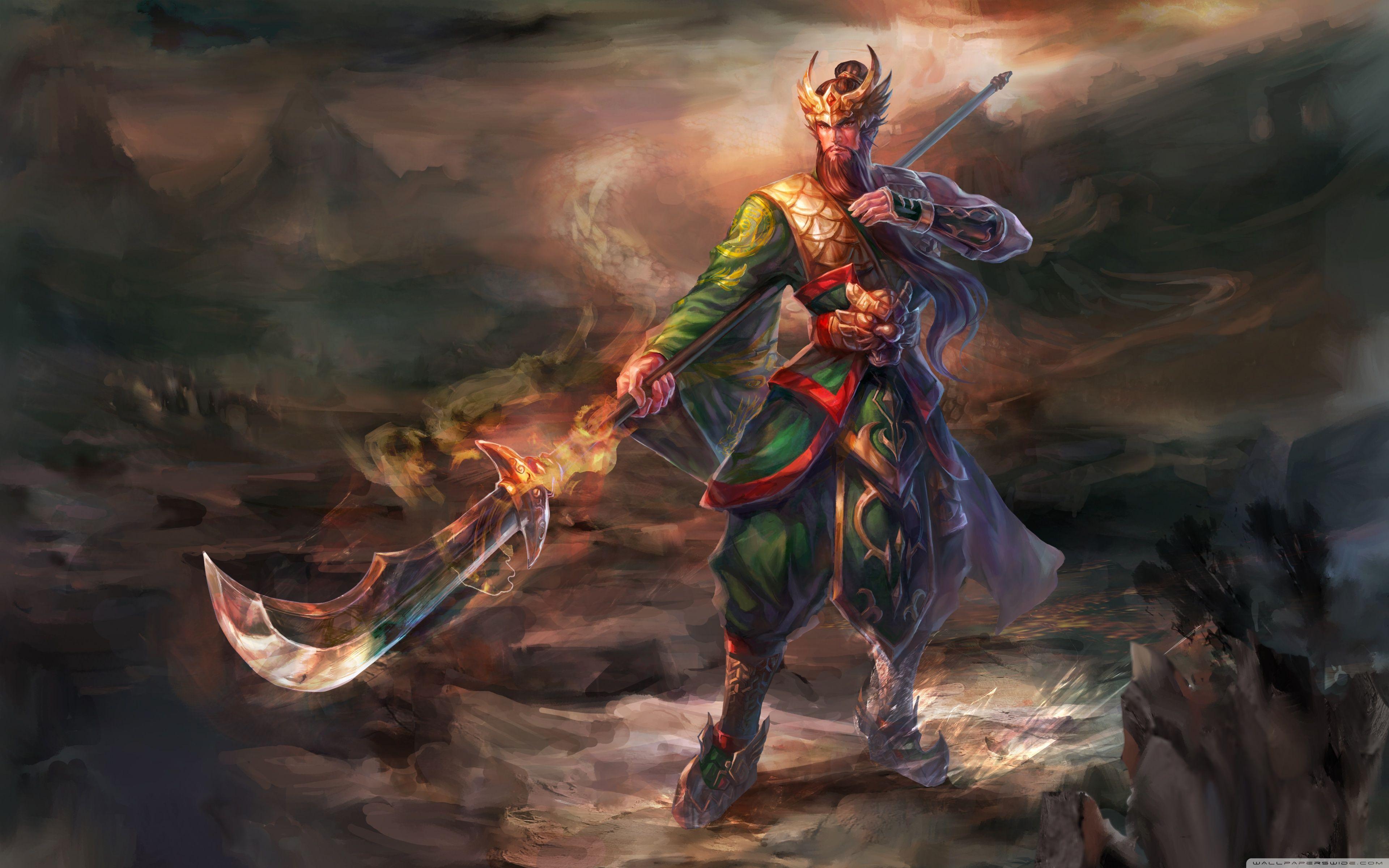 Guan Yu Wallpapers Top Free Guan Yu Backgrounds Wallpaperaccess