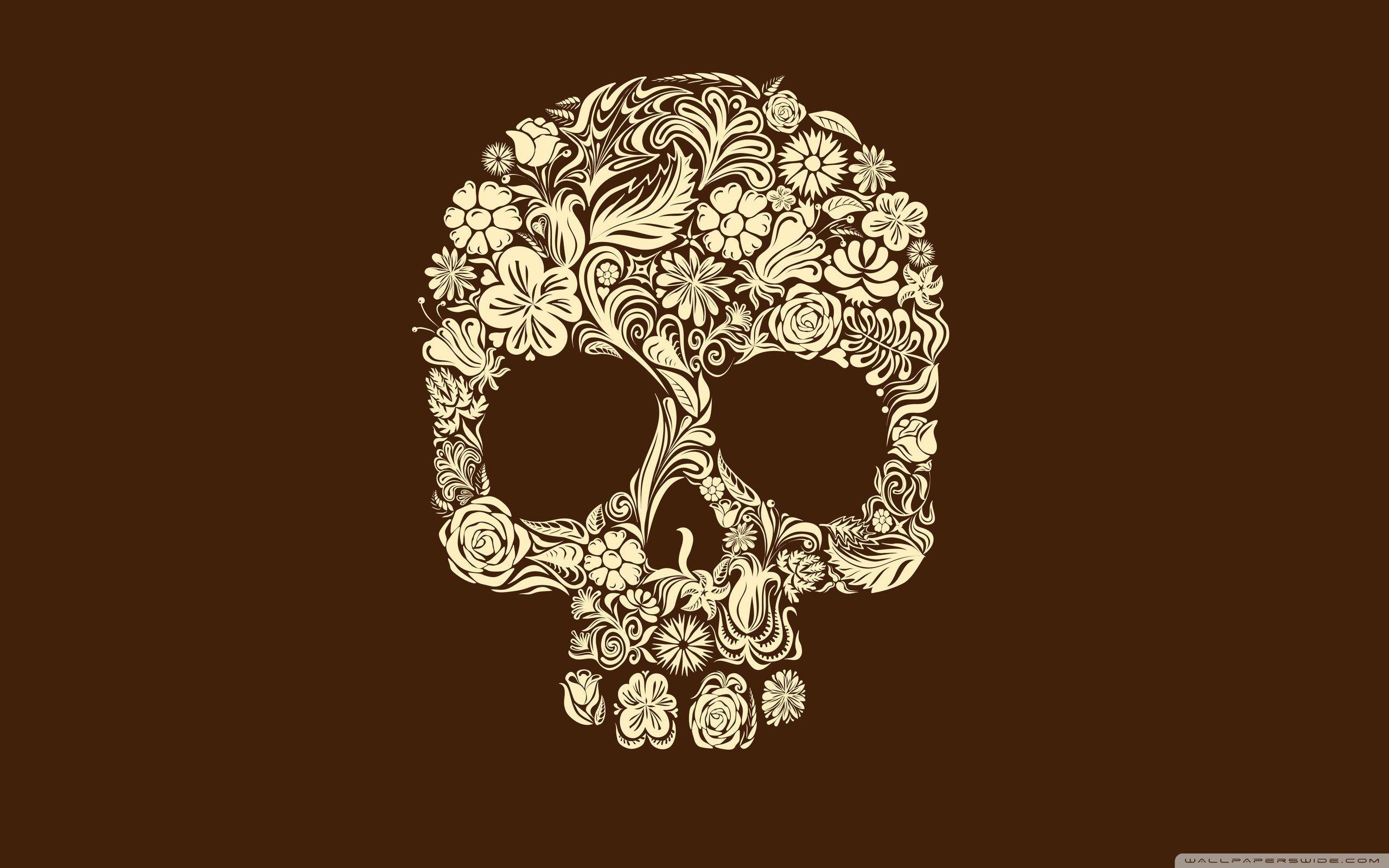 Skull Art Desktop Wallpapers Top Free Skull Art Desktop Backgrounds Wallpaperaccess