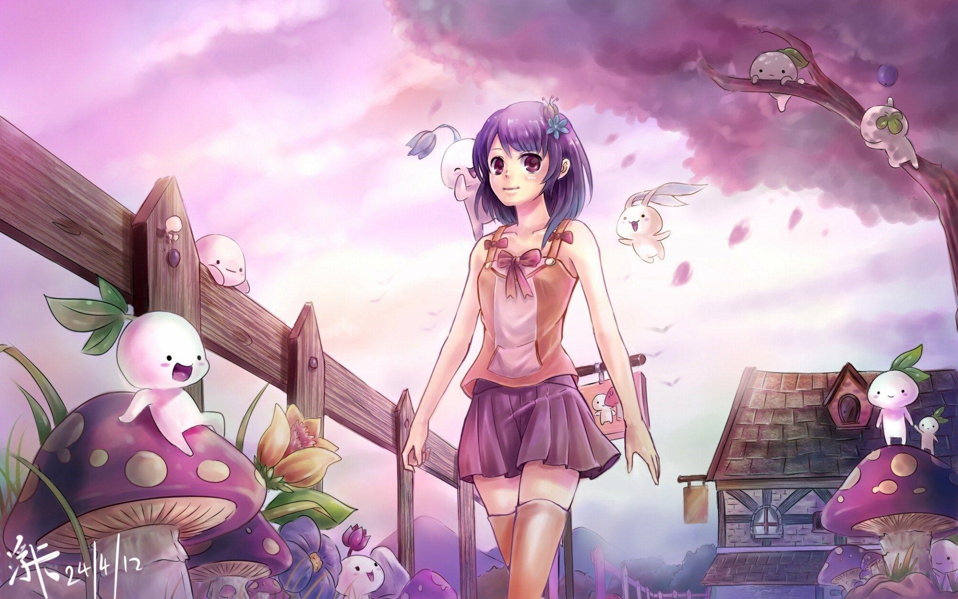 X Cute Anime Wallpaper Hd Wallpaper