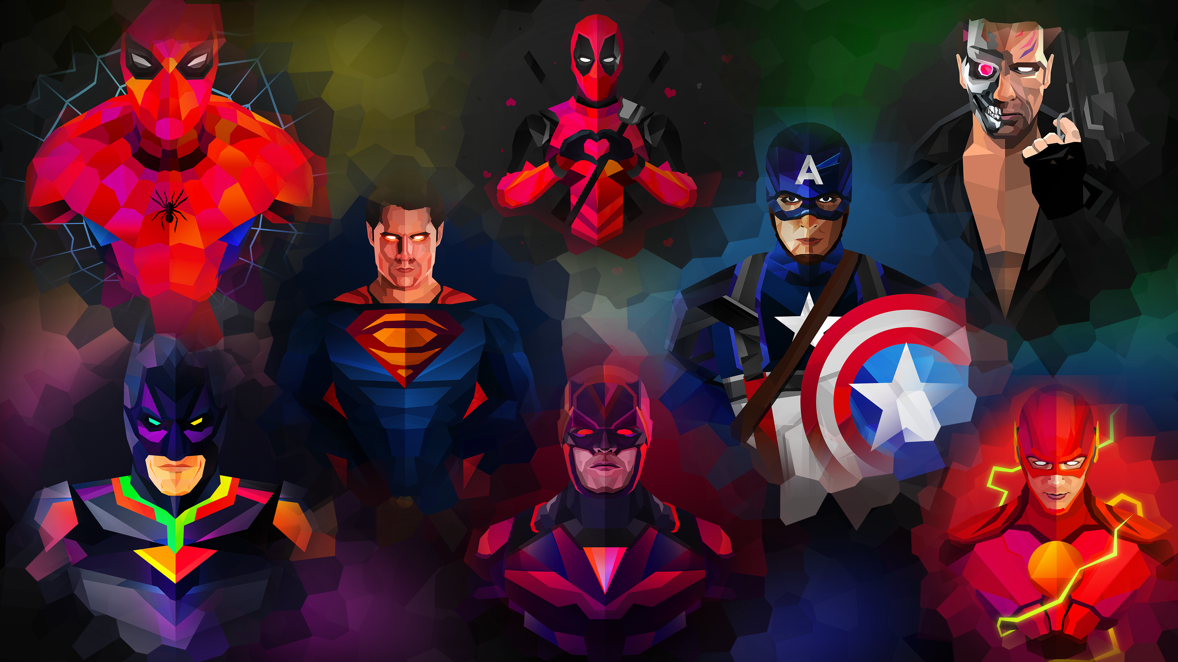 Marvel Abstract Wallpapers Top Free Marvel Abstract Backgrounds Wallpaperaccess