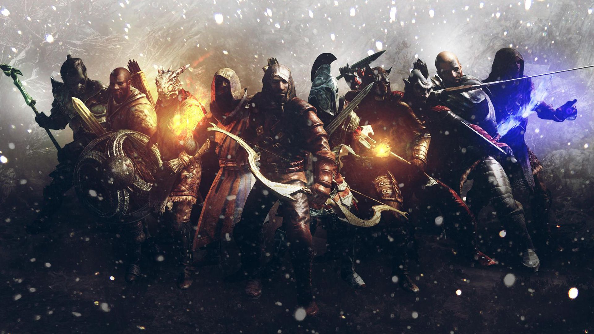 Epic Skyrim Wallpapers Top Free Epic Skyrim Backgrounds