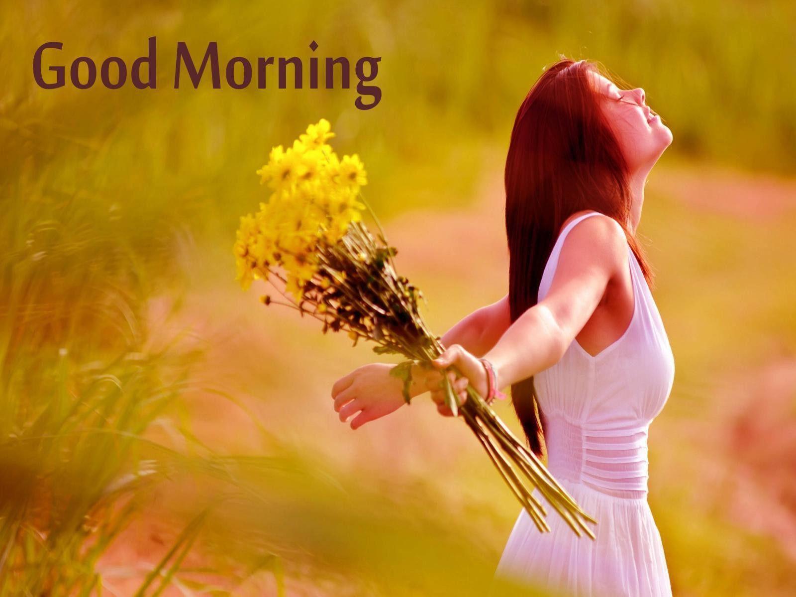 1600x1200 Cô gái xinh đẹp và lộng lẫy Chào buổi sáng HD Bộ sưu tập hình nền