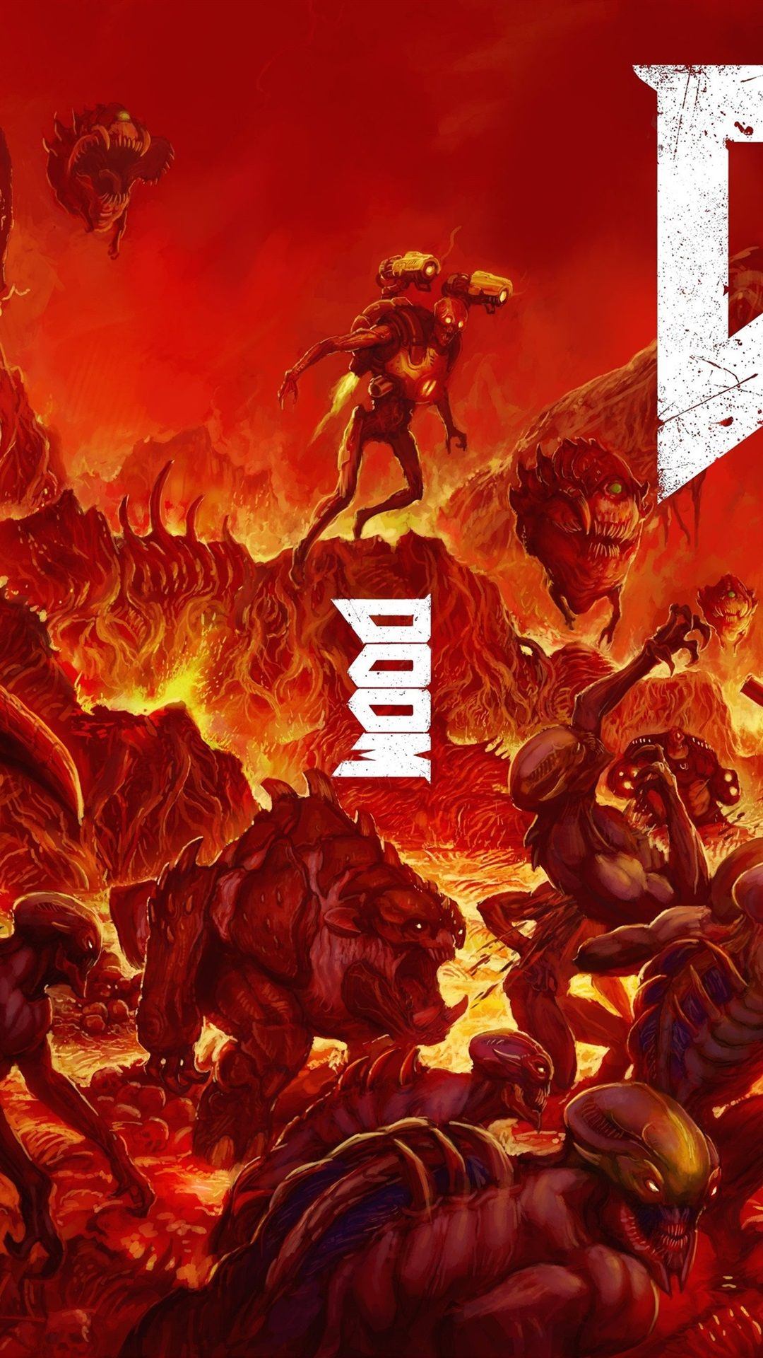 Doom Iphone Wallpapers Top Free Doom Iphone Backgrounds Wallpaperaccess
