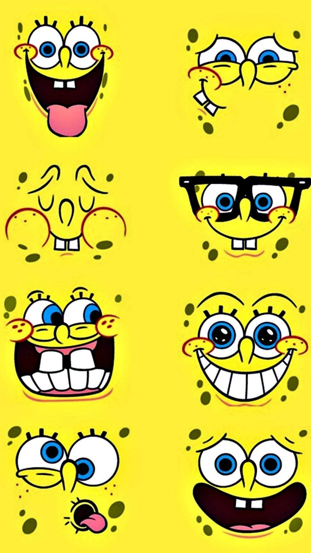 Spongebob Iphone Wallpapers Top Free Spongebob Iphone Backgrounds Wallpaperaccess