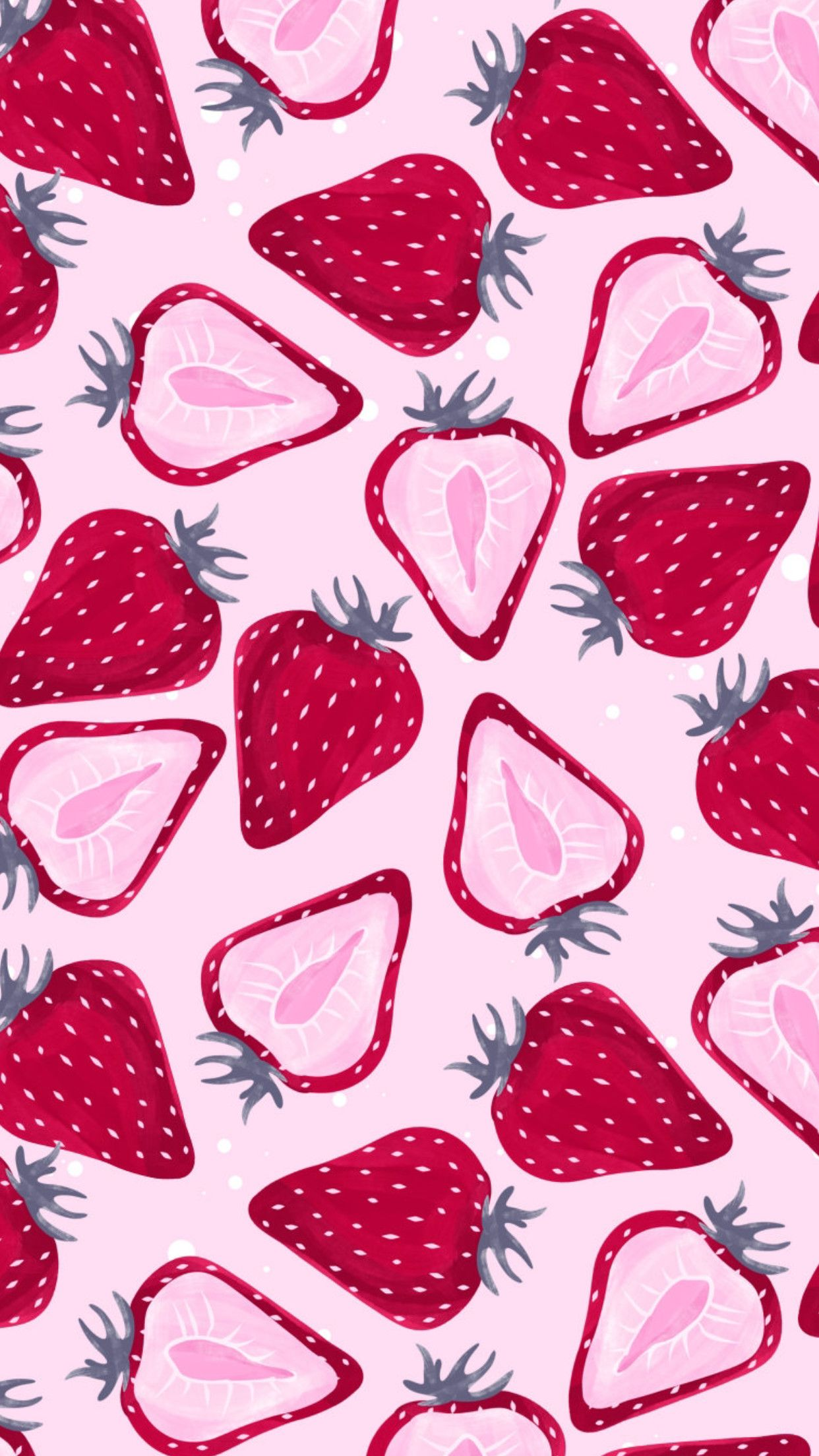 Kawaii Strawberry Wallpapers - Top Free ...