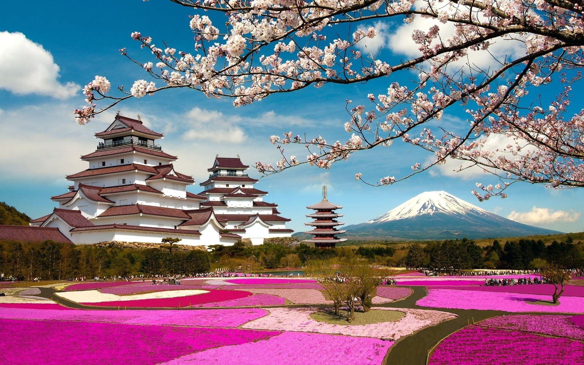 Japan Landscape Wallpapers Top Free Japan Landscape Backgrounds Wallpaperaccess