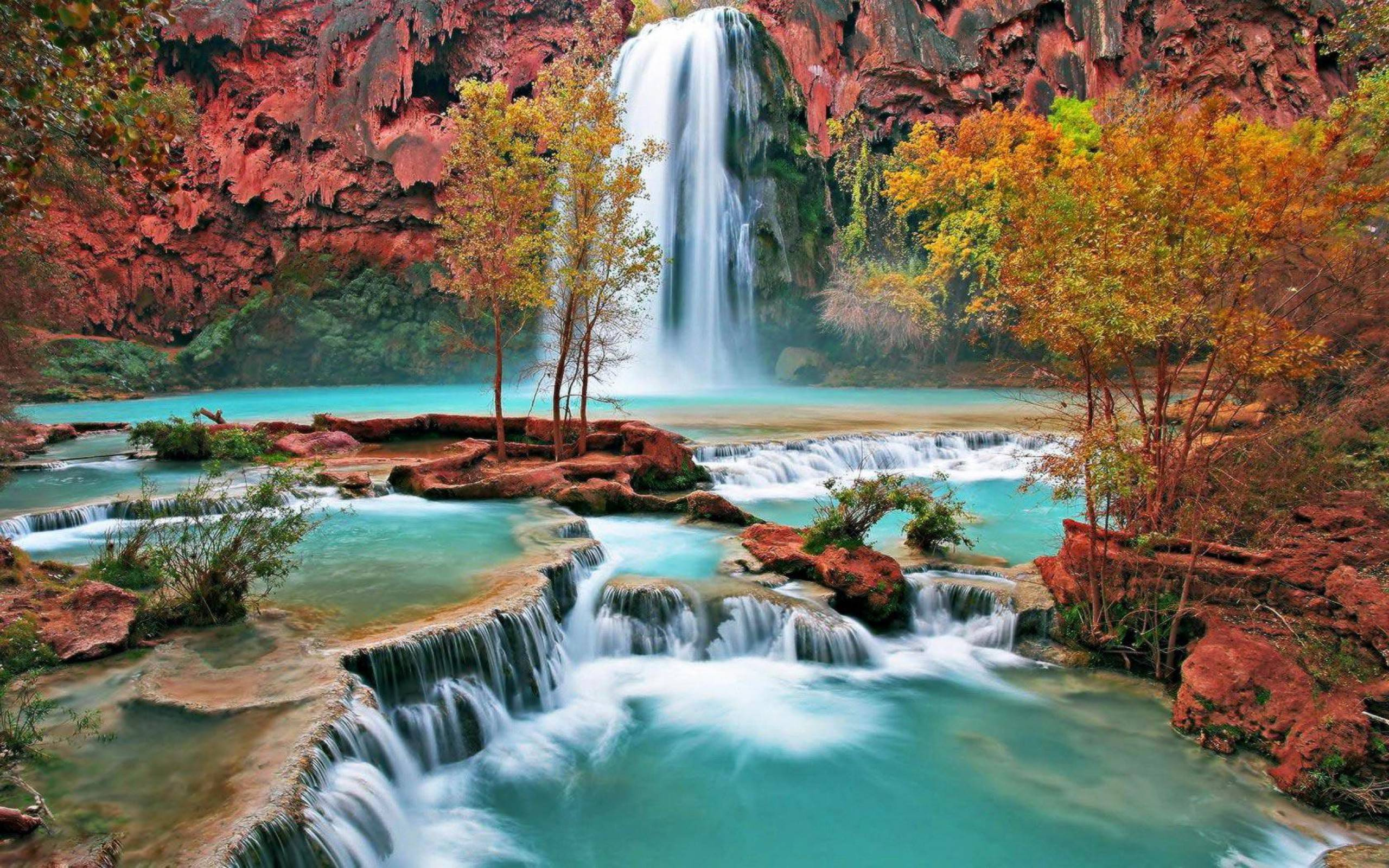 Fall Waterfall Wallpapers