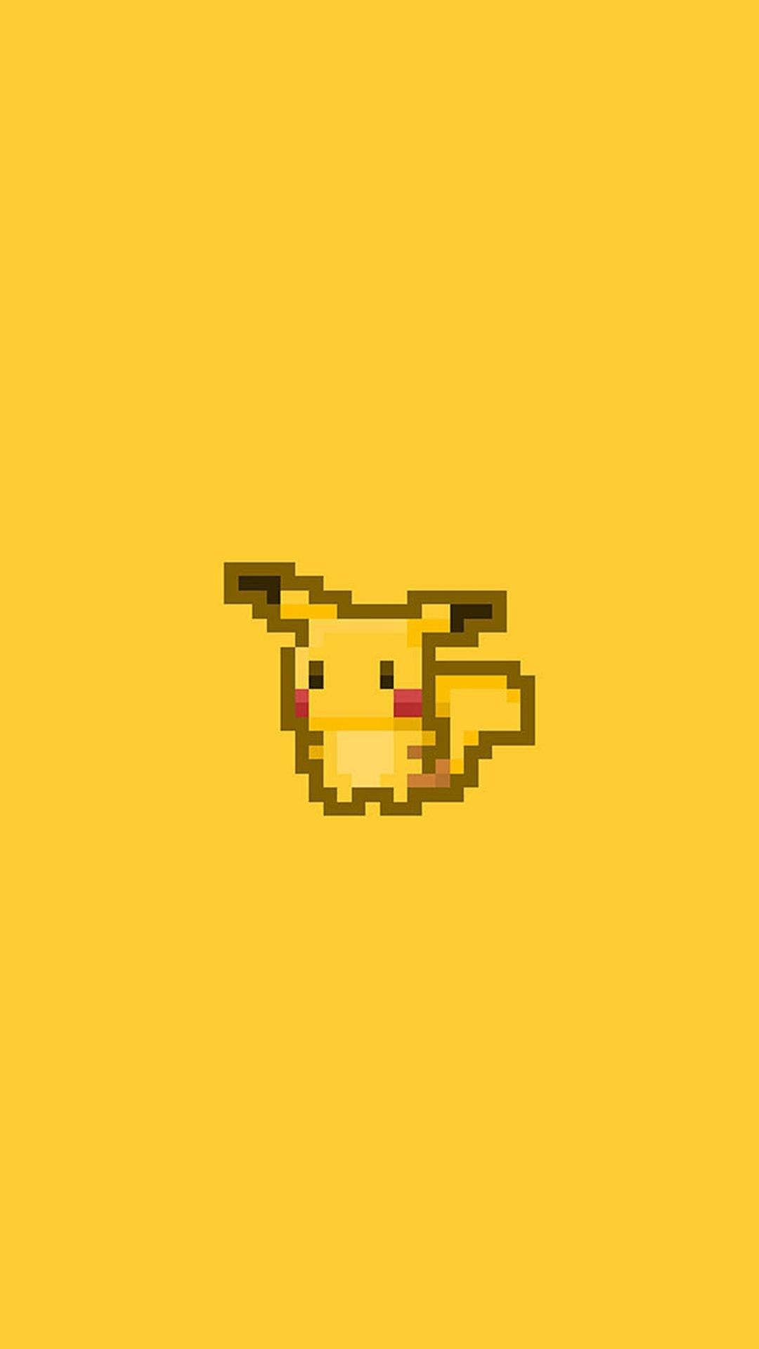 Yellow Pokemon Iphone Wallpapers Top Free Yellow Pokemon Iphone Backgrounds Wallpaperaccess