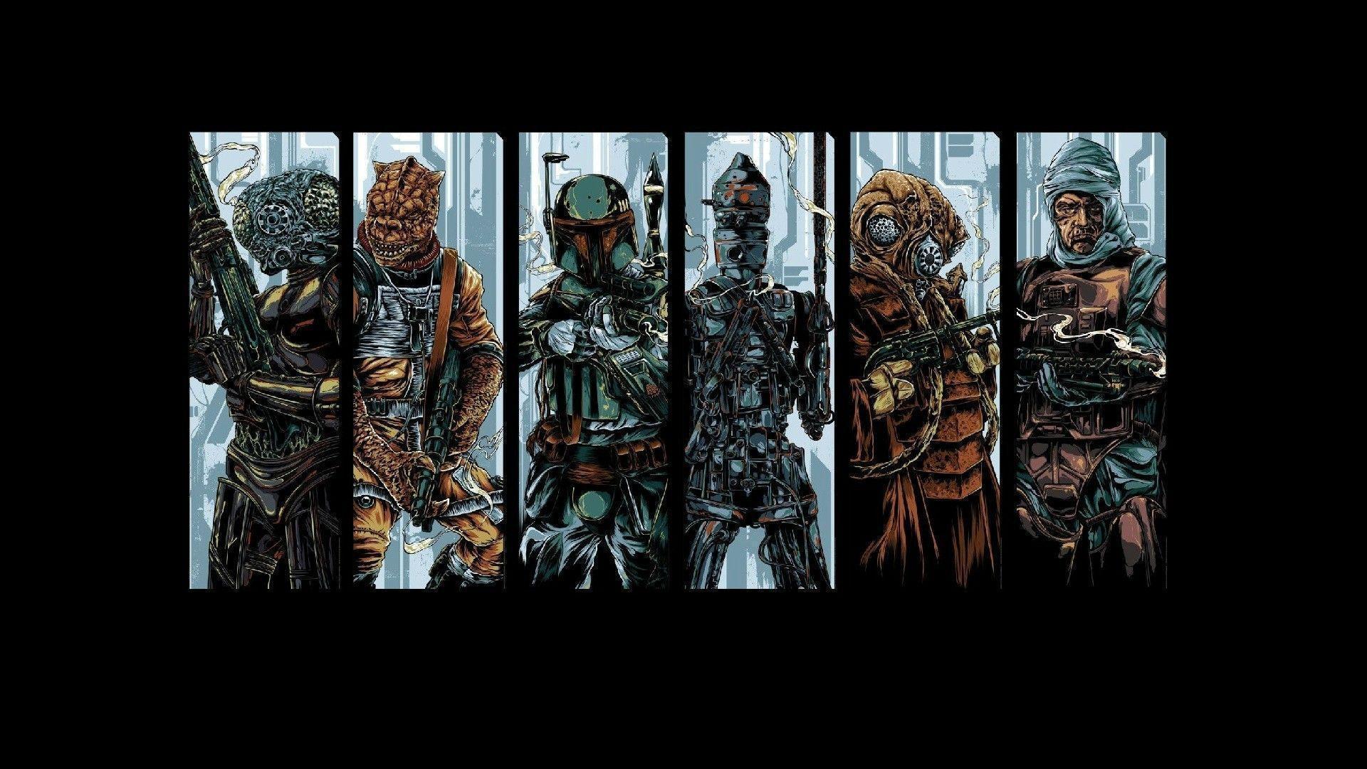 Star Wars Bounty Hunter Wallpapers Top Free Star Wars Bounty