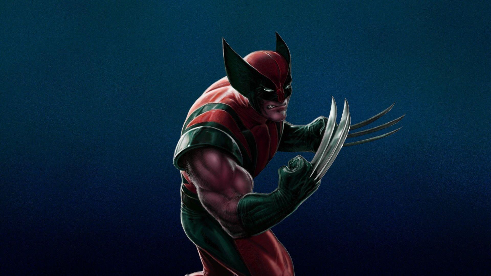 Logan Wolverine Cartoon Wallpaper