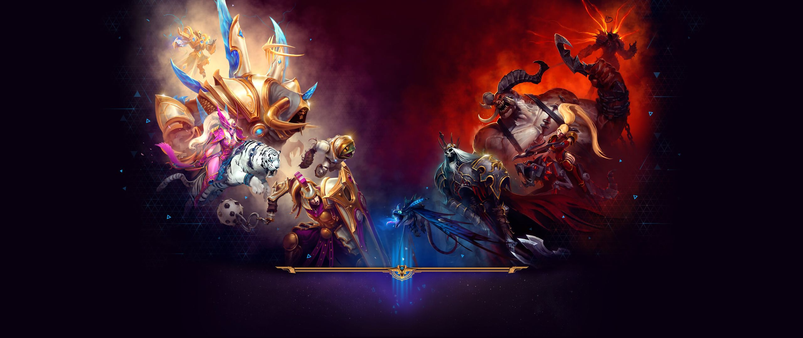 Heroes Of The Storm Wallpapers Top Free Heroes Of The Storm