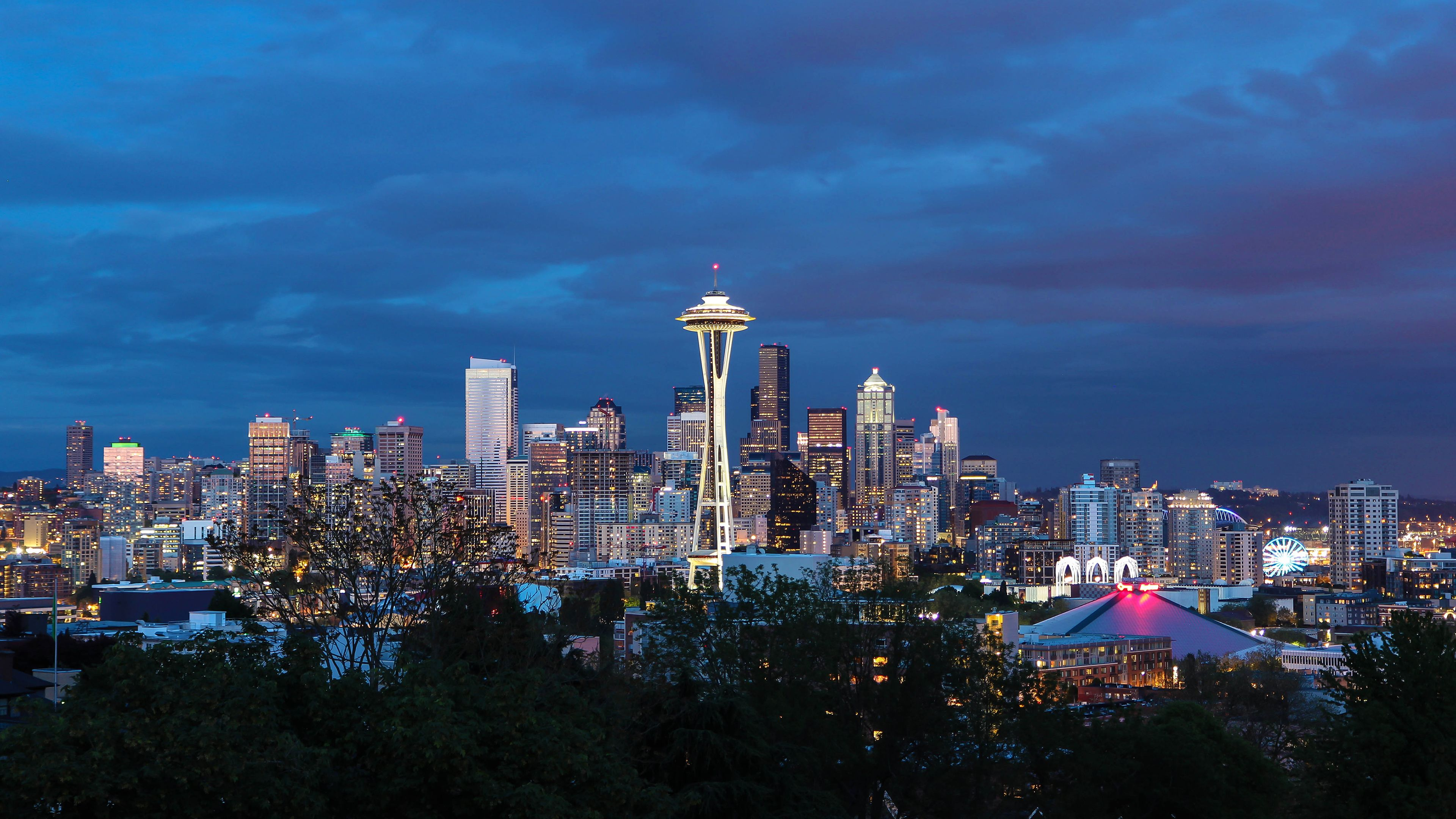 Seattle 4k Wallpapers Top Free Seattle 4k Backgrounds Wallpaperaccess