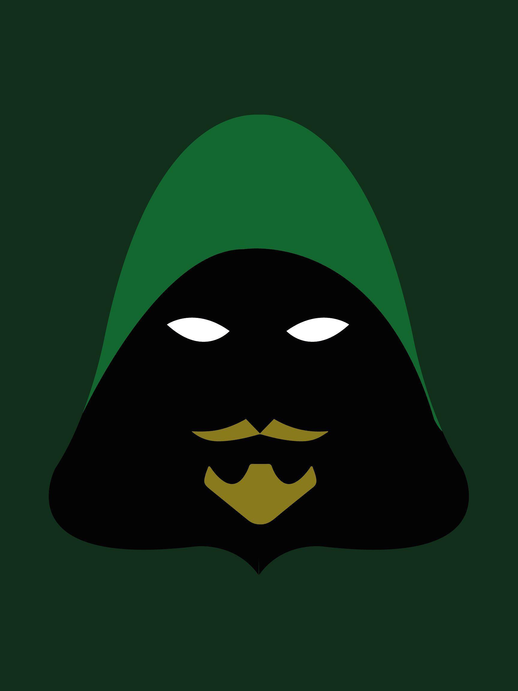 1080x1920 Green Arrow Wallpaper