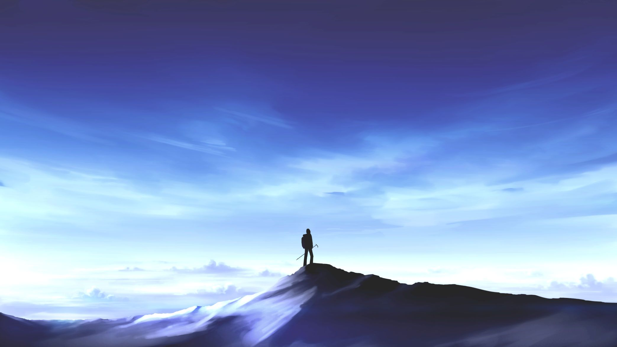 Anime Mountain Wallpapers Top Free Anime Mountain Backgrounds Wallpaperaccess