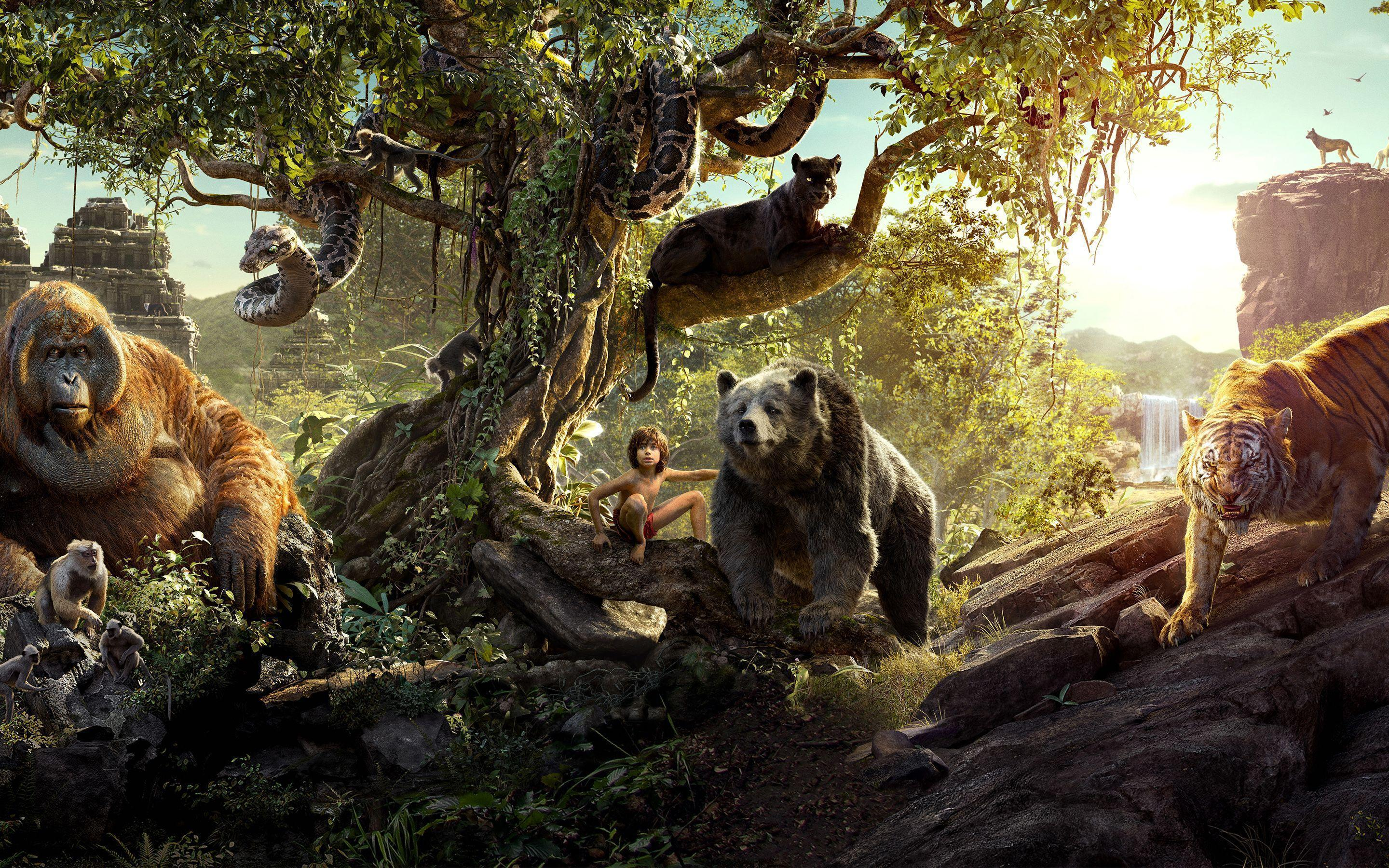 1080p Jungle Book Hd Wallpaper