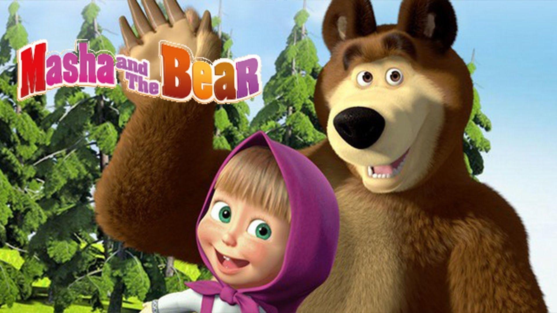 Masha And The Bear Wallpapers Top Free Masha And The Bear