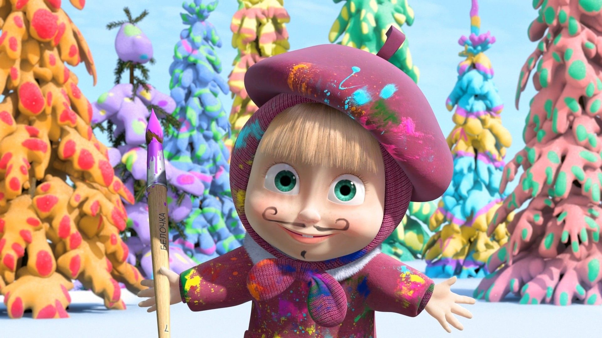 Masha And The Bear Wallpapers Top Free Masha And The Bear