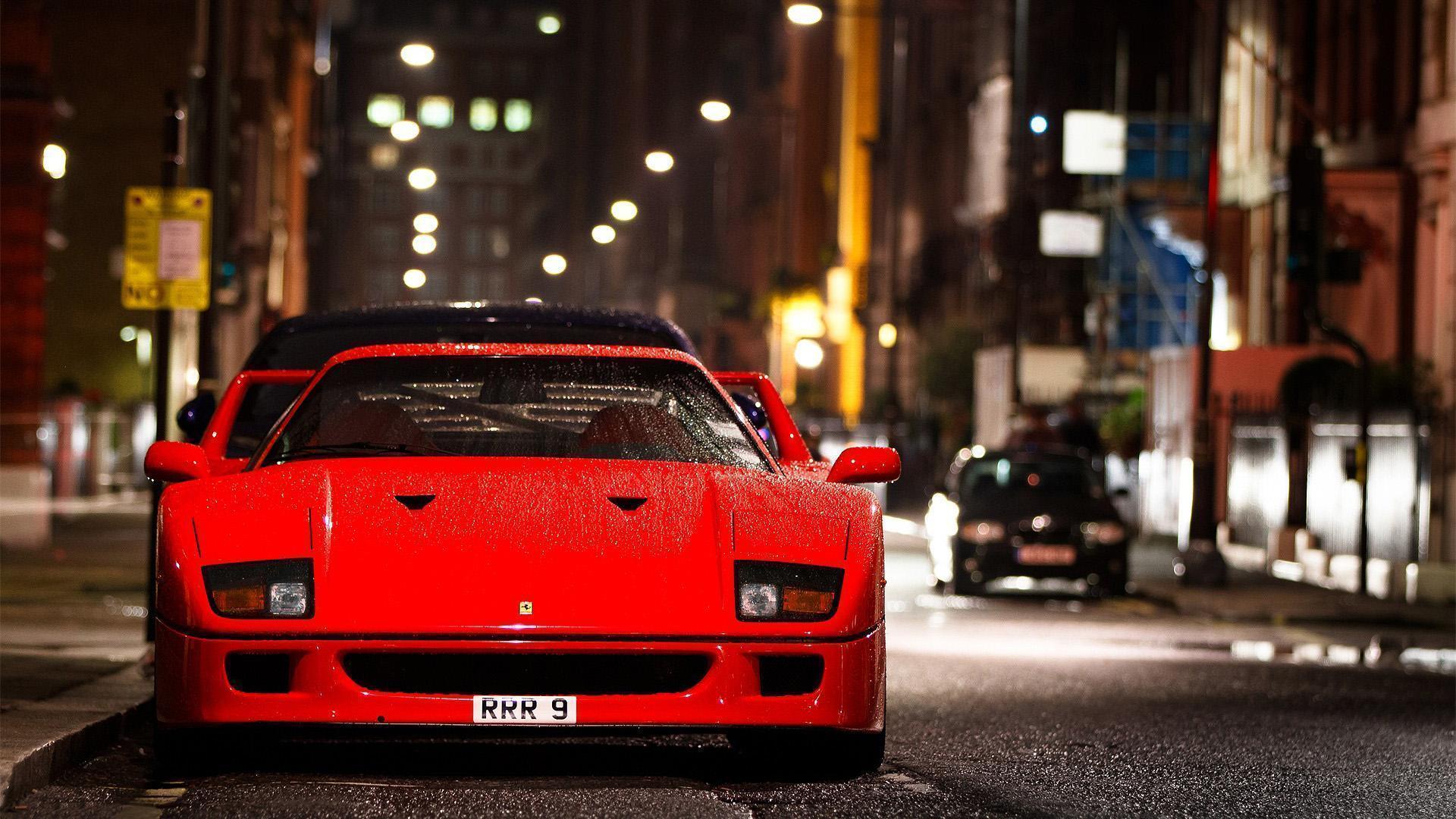 Ferrari F40 Wallpapers Top Free Ferrari F40 Backgrounds Wallpaperaccess