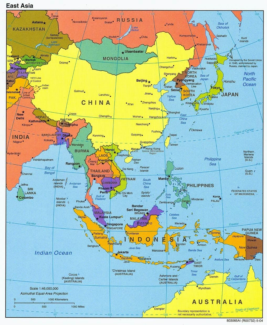 Asia Map Wallpapers Top Free Asia Map Backgrounds