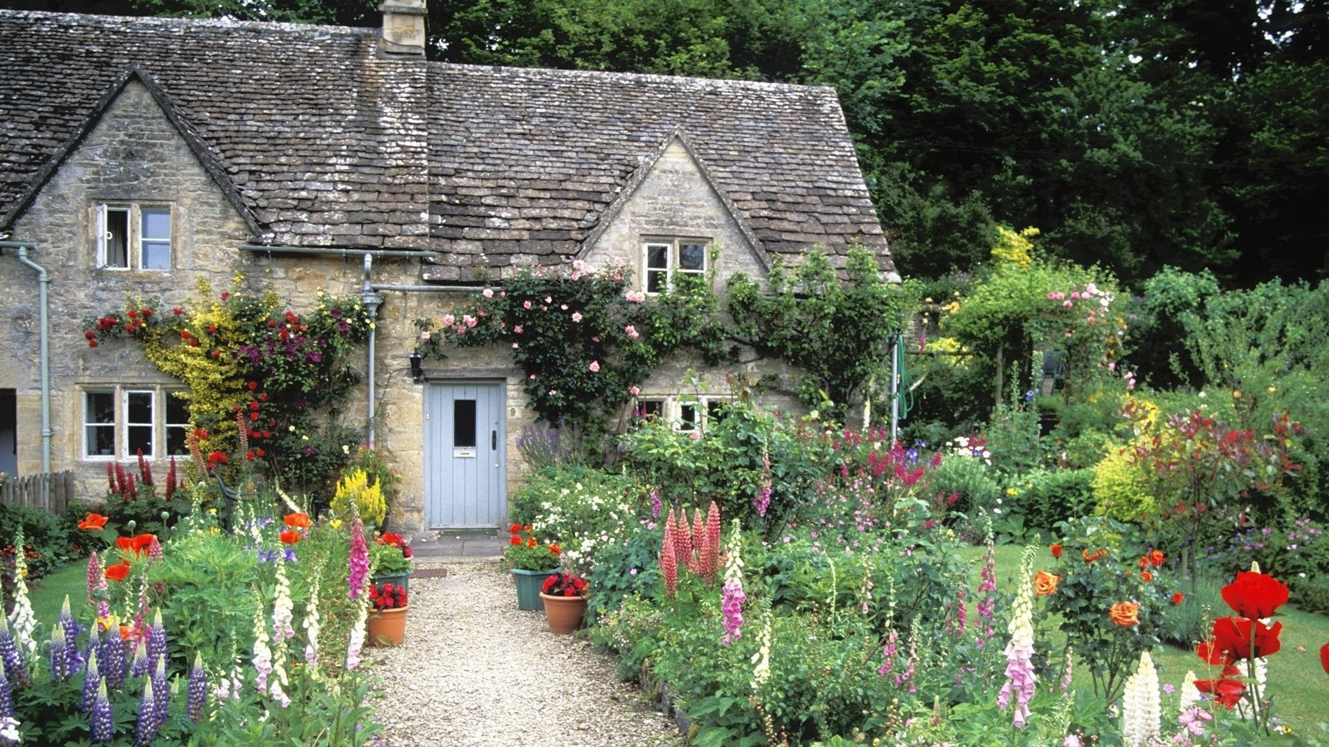 Cottage Garden Wallpapers - Top Free Cottage Garden ...