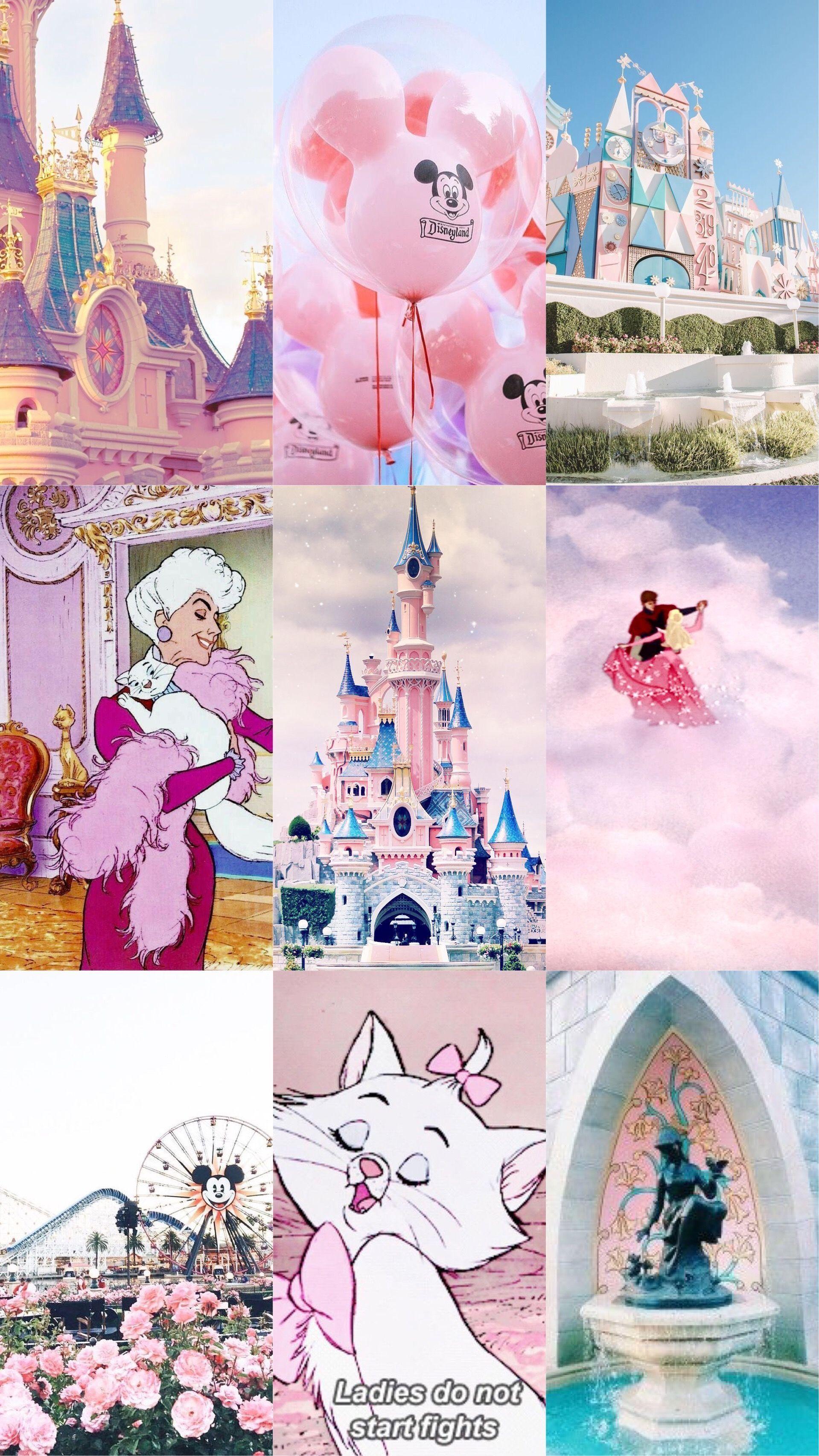 Disney Princess Lockscreen Aesthetic Wallpaper Cartoon