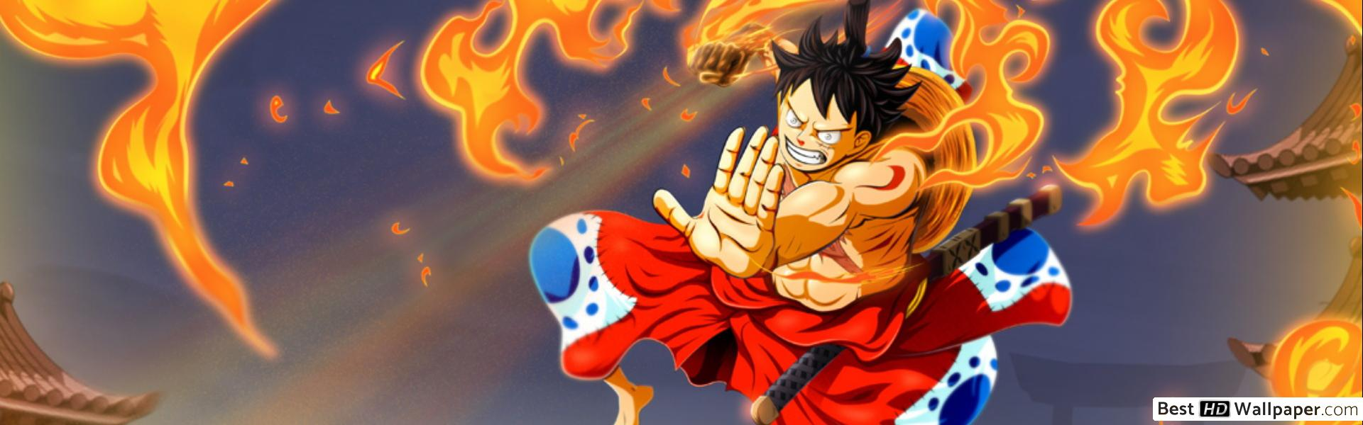 One Piece Dual Monitor Wallpapers Top Free One Piece Dual