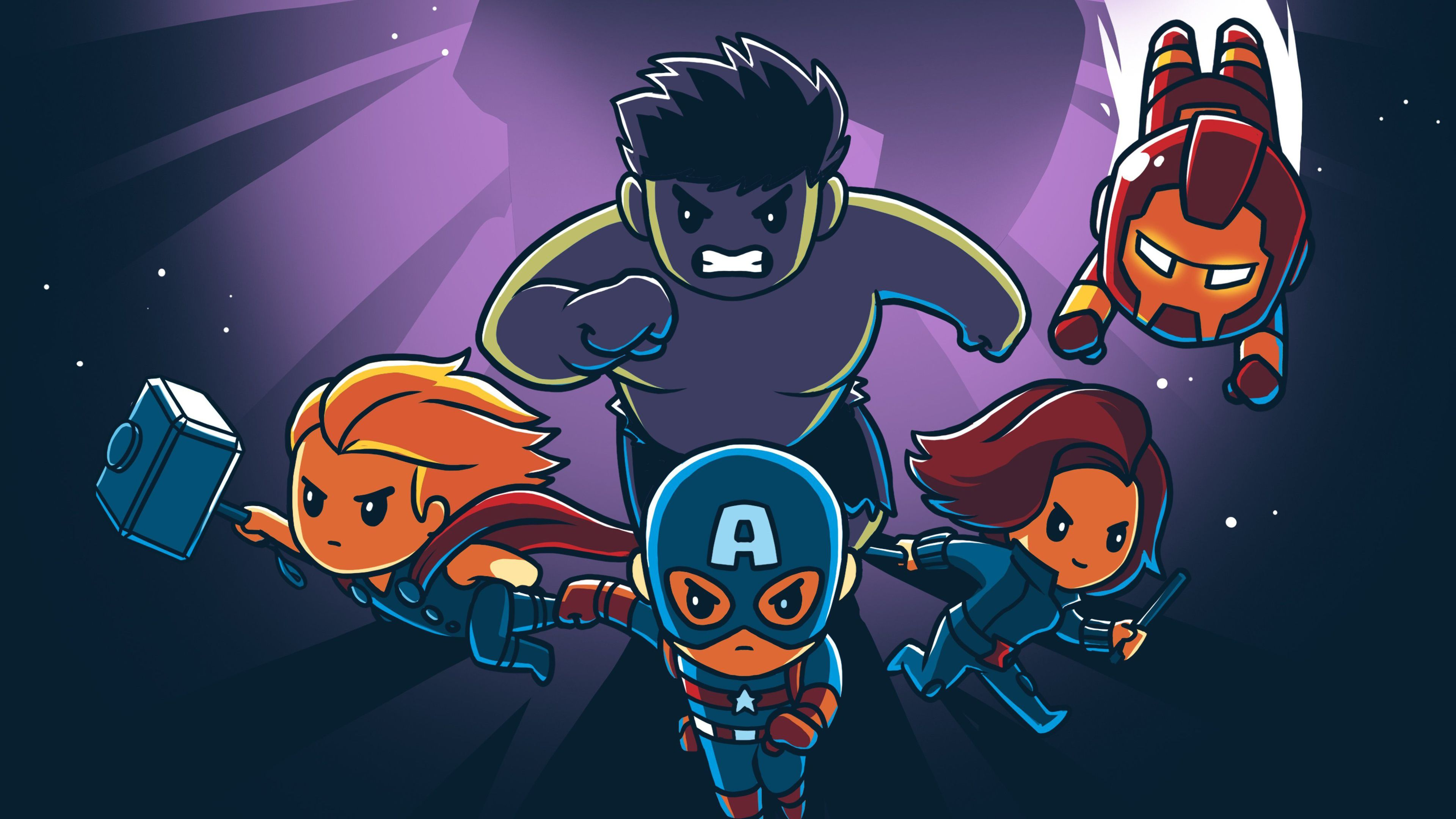 Thor Cartoon Wallpapers Top Free Thor Cartoon Backgrounds