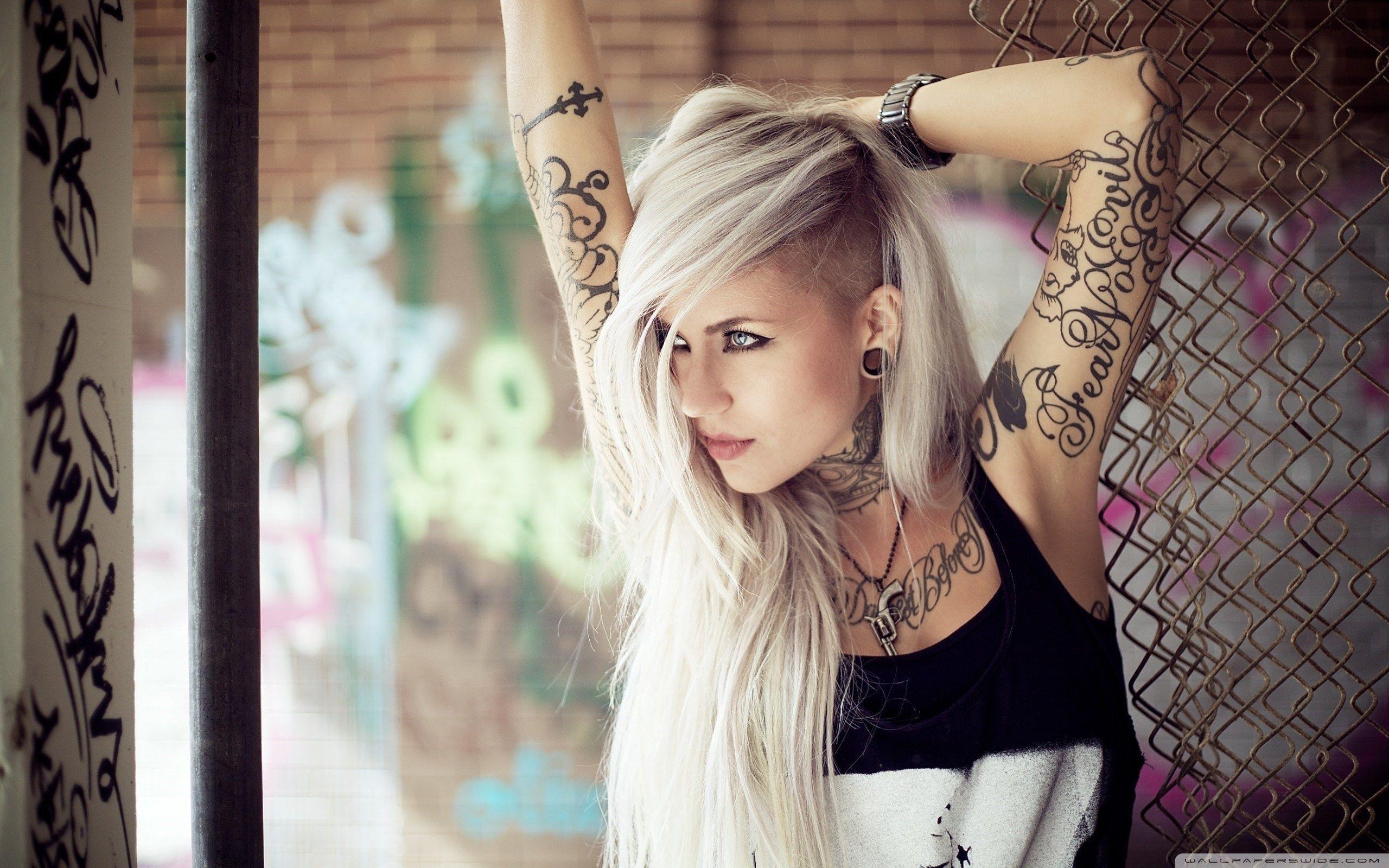 Hot tattoo girl 35 Naughty