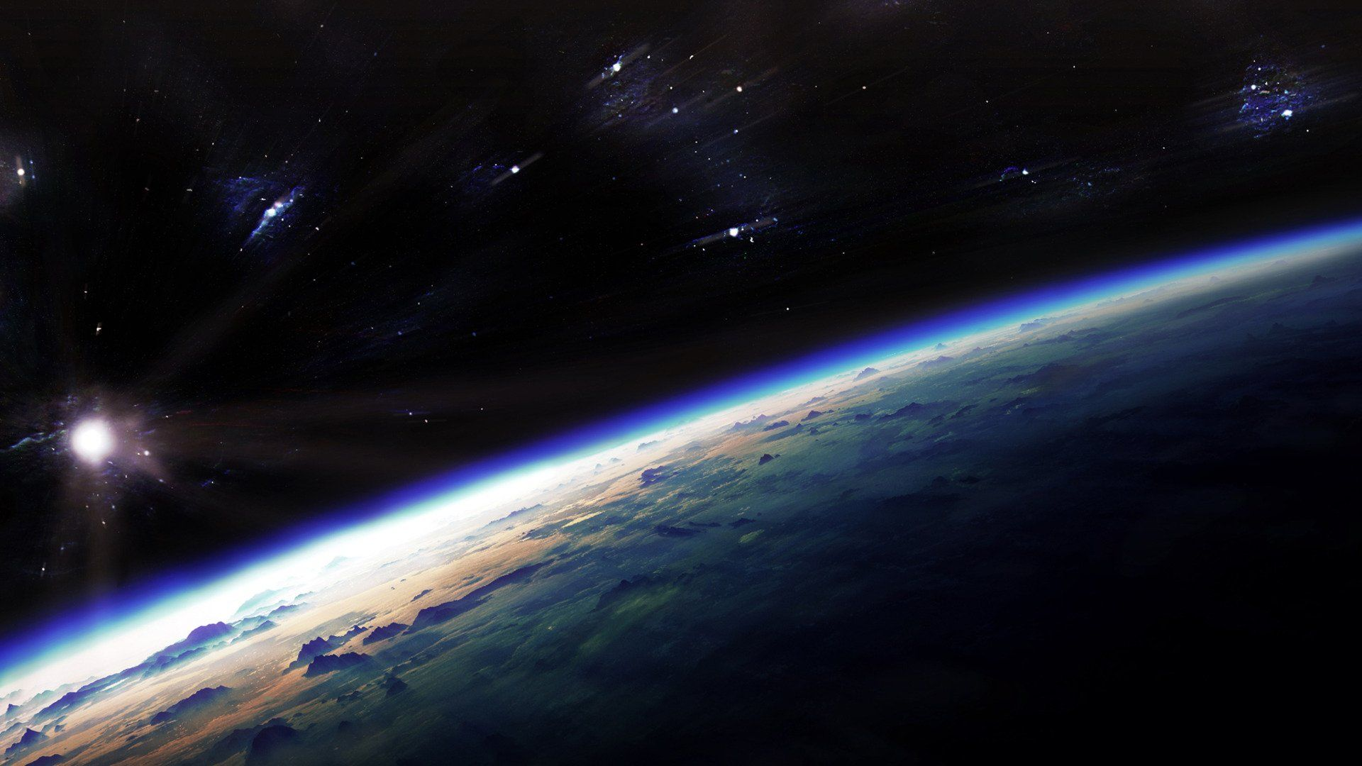 Earth From Space Wallpapers Top Free Earth From Space Backgrounds Wallpaperaccess