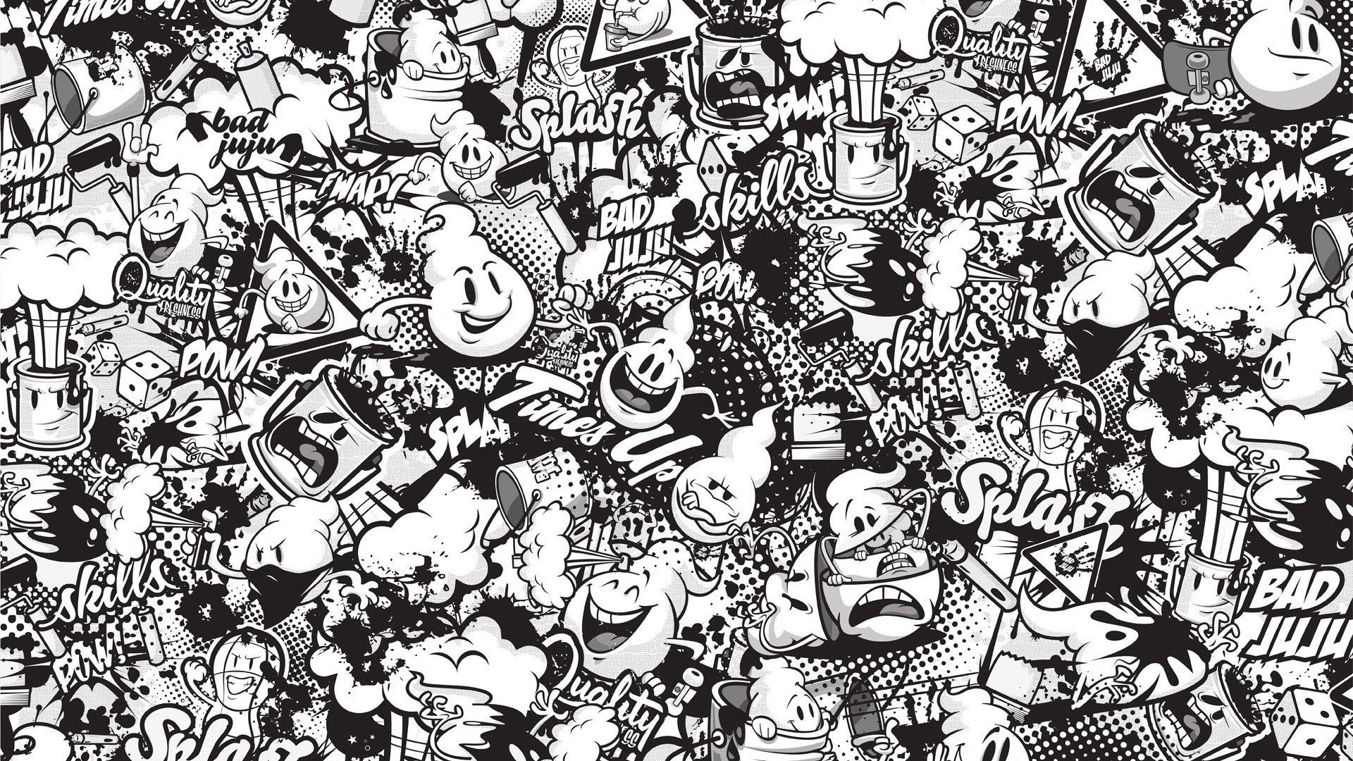 Black And White Graffiti Wallpapers Top Free Black And White