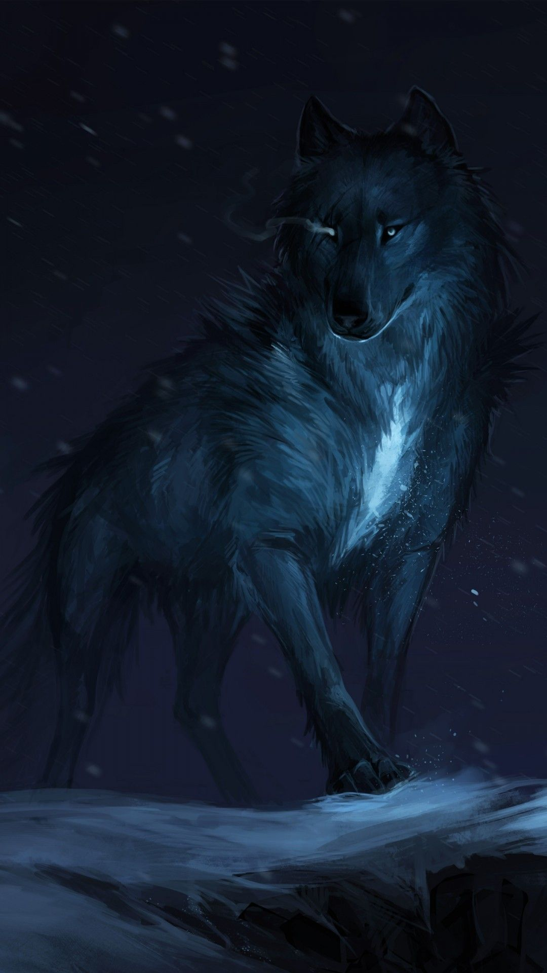 Shadow Wolf Wallpapers Top Free Shadow Wolf Backgrounds Wallpaperaccess