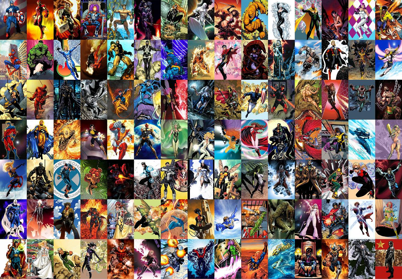 All Marvel Charecters Wallpapers Top Free All Marvel Charecters Backgrounds Wallpaperaccess