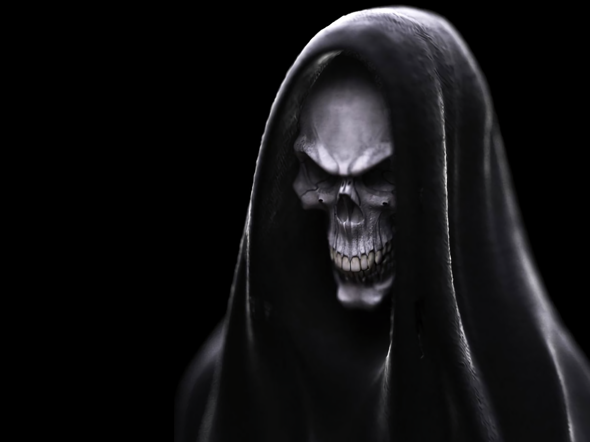 Dark Ghost Wallpapers Top Free Dark Ghost Backgrounds Wallpaperaccess