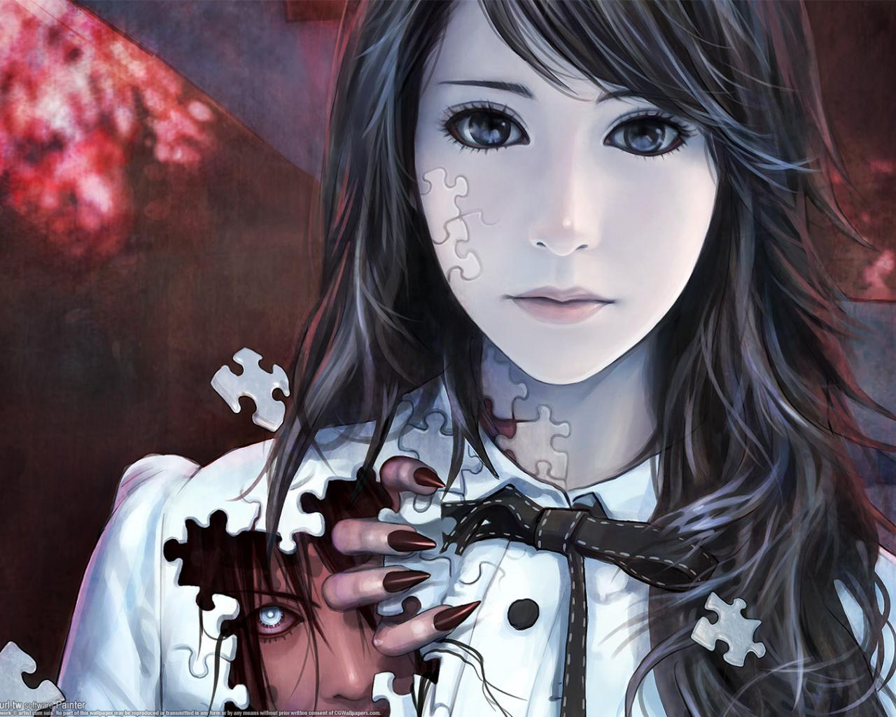 Wallpaper Anime Girl Keren 3d gambar ke 10