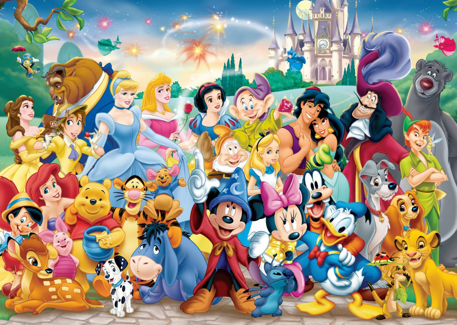 Disney All Characters Wallpapers Top Free Disney All