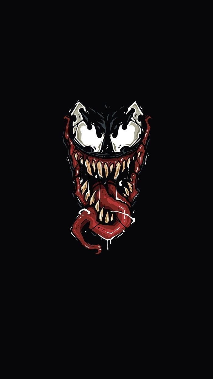 Marvel Venom Iphone Wallpapers Top Free Marvel Venom Iphone Backgrounds Wallpaperaccess