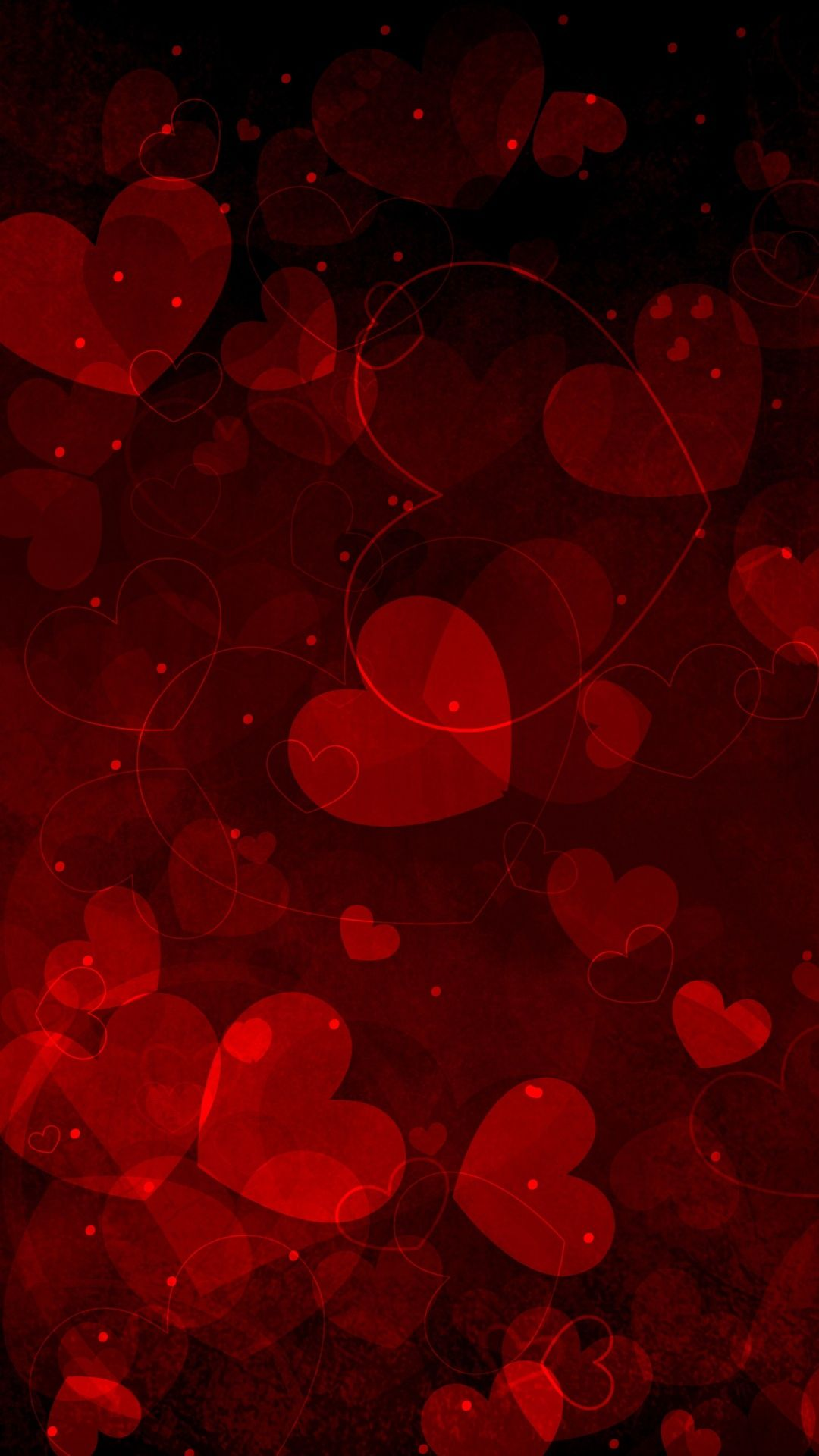 Red Heart Iphone Wallpapers Top Free Red Heart Iphone Backgrounds Wallpaperaccess