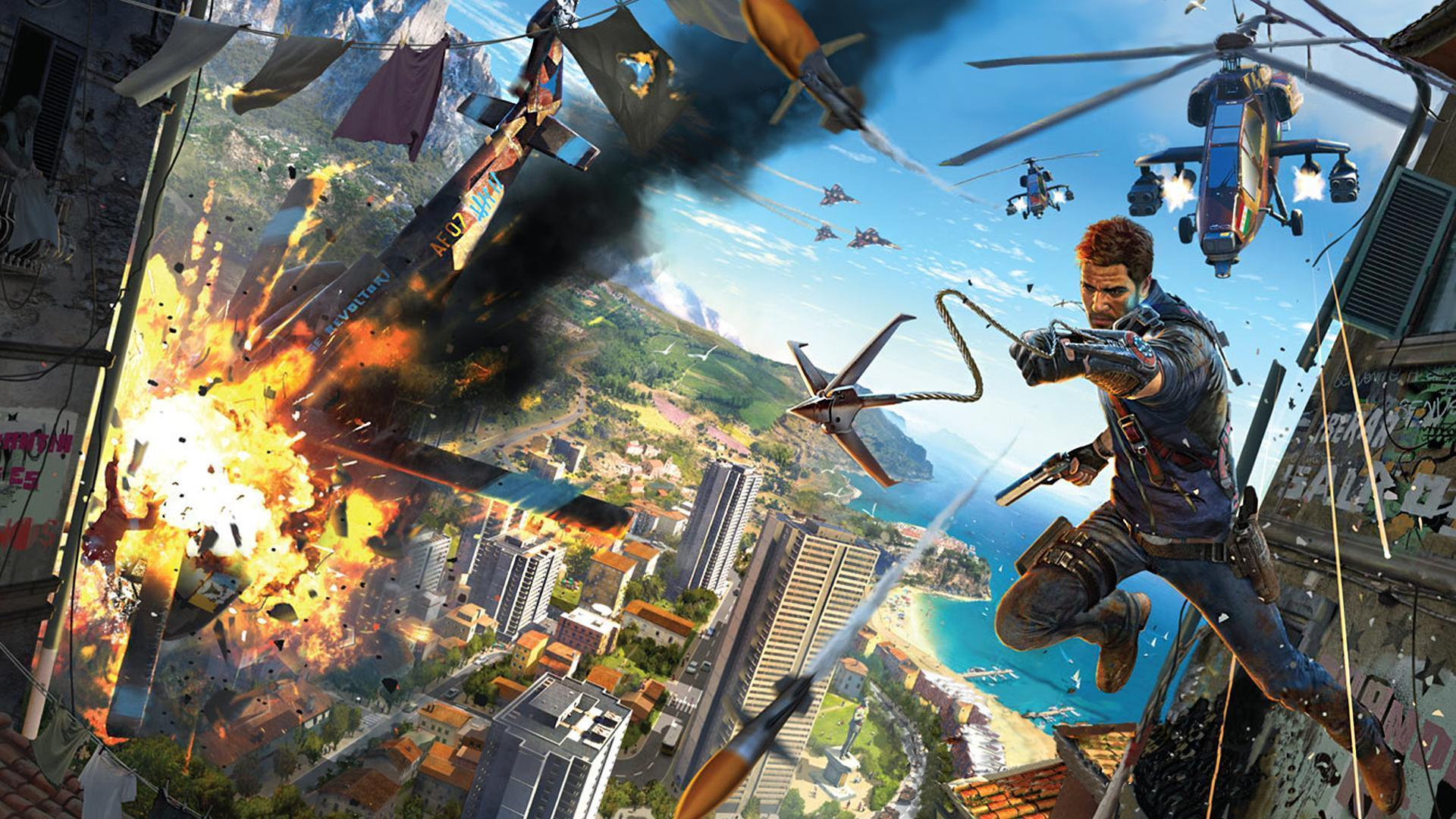 Just Cause 3 Wallpapers - Top Free Just Cause 3 Backgrounds - WallpaperAccess