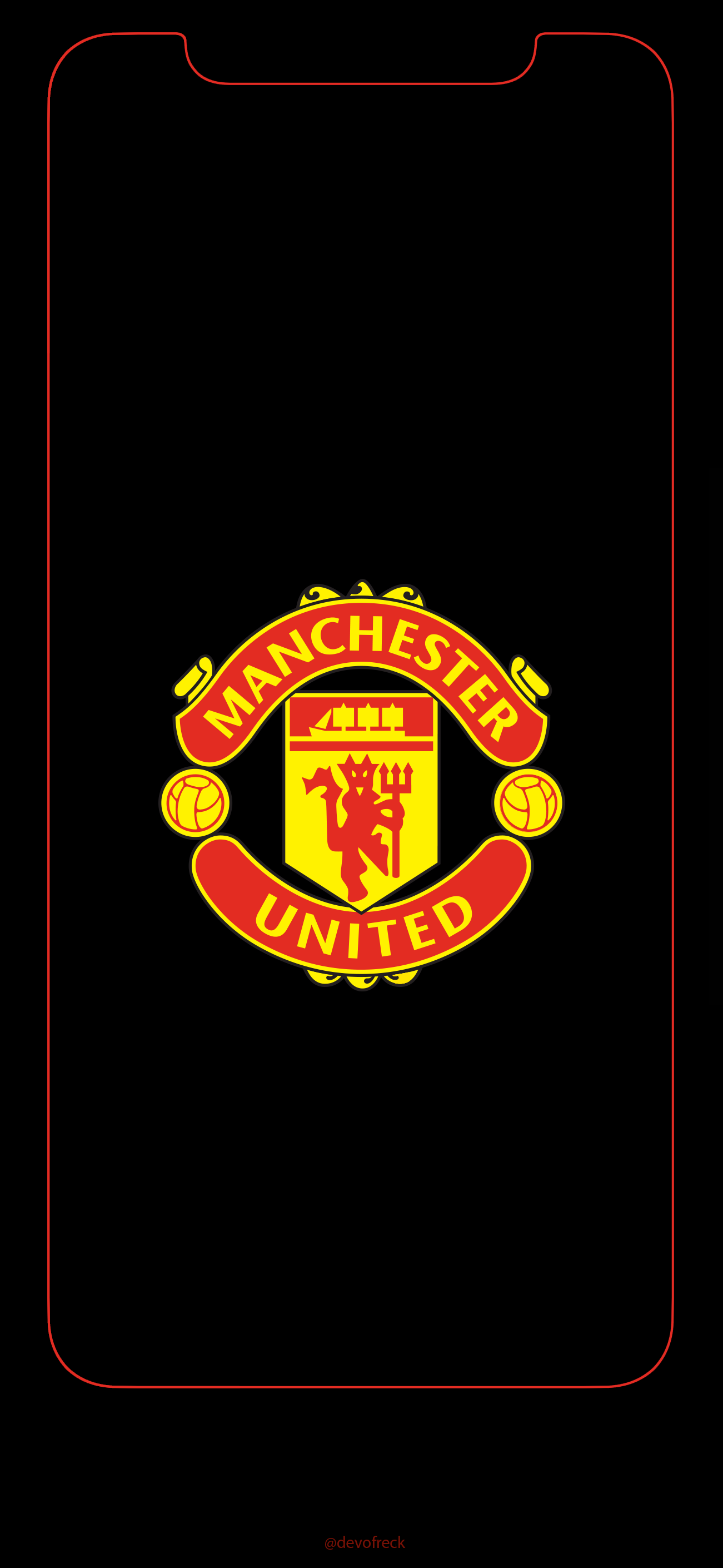 Manchester United Iphone 11 Wallpaper Wallpapershit