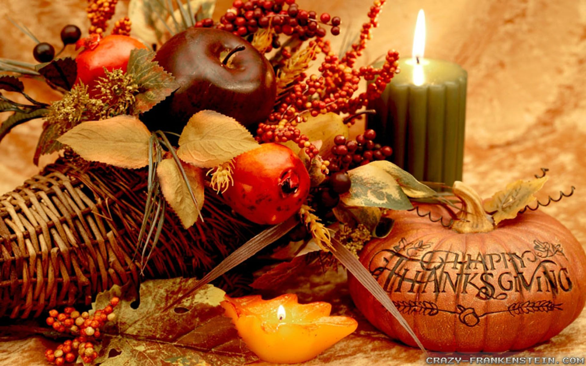 1920x1200 Thanksgiving Day Decorations wallpapers - Crazy Frankenstein