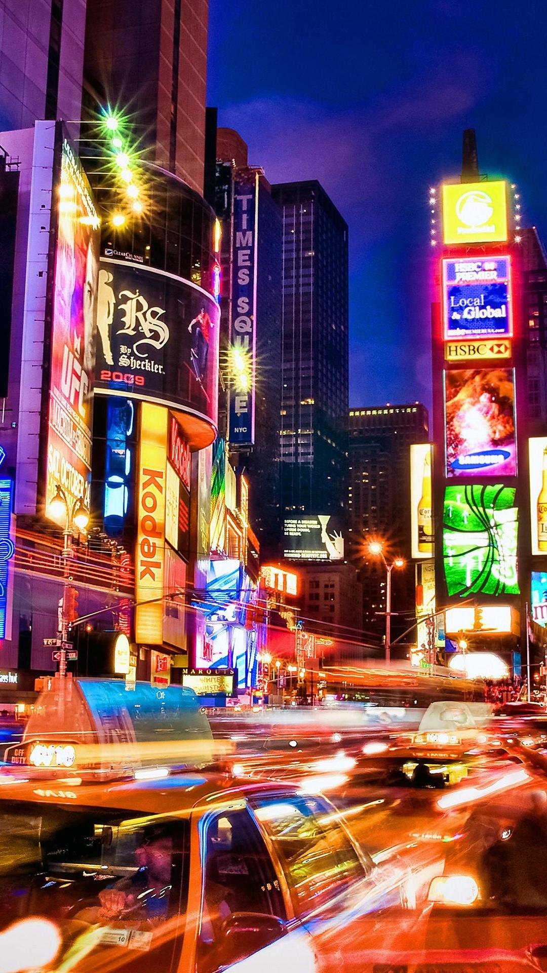 Times Square iPhone Wallpapers - Top ...