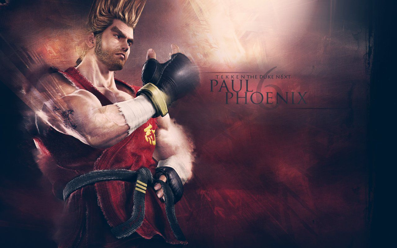 Paul Phoenix Wallpapers Top Free Paul Phoenix Backgrounds Wallpaperaccess
