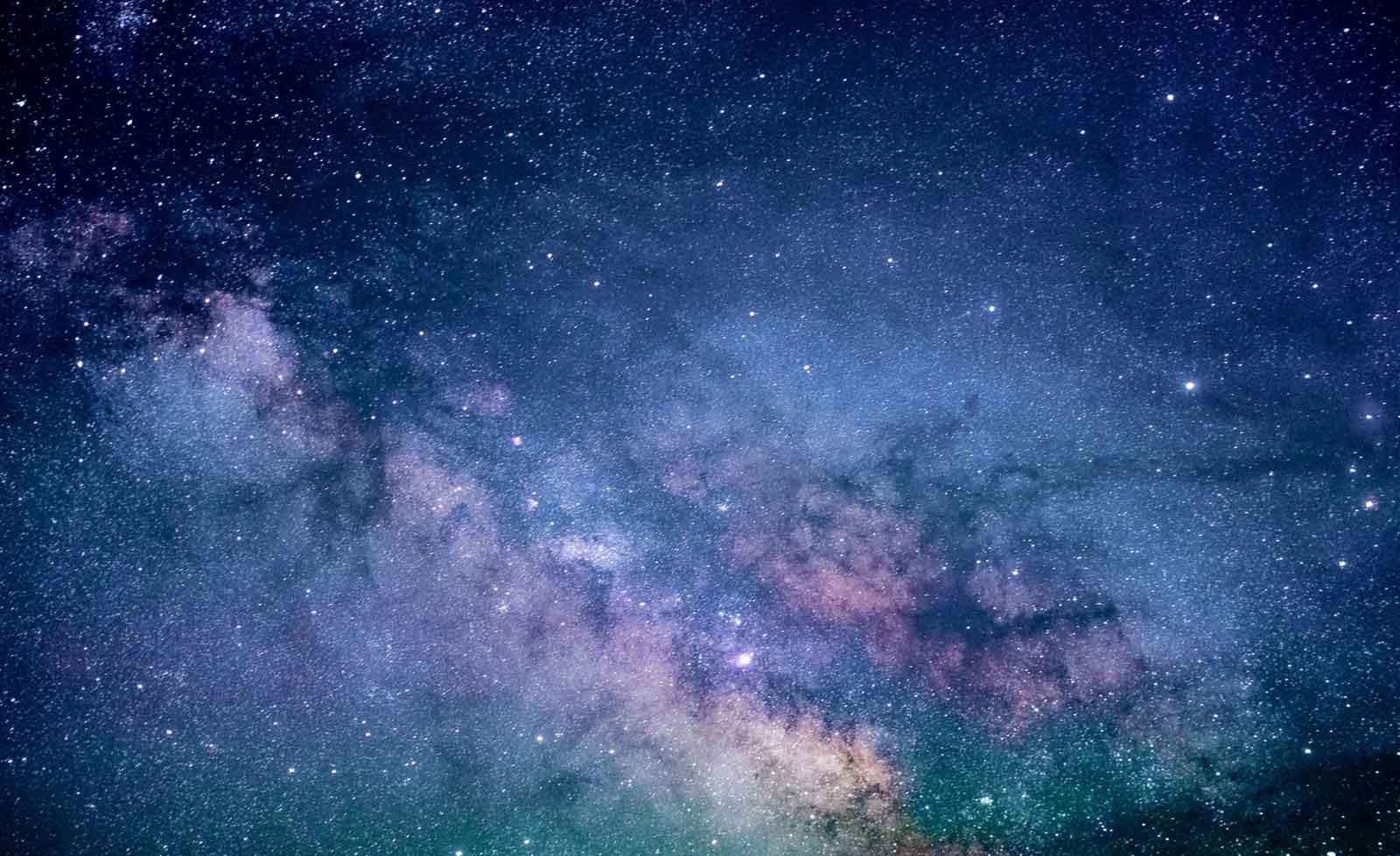 1600x978 GIẤY TƯỜNG ẢNH THIÊN NHIÊN TRÊN TƯỜNG XXL Sao Bầu trời Đêm Không gian Thiên hà Vũ trụ