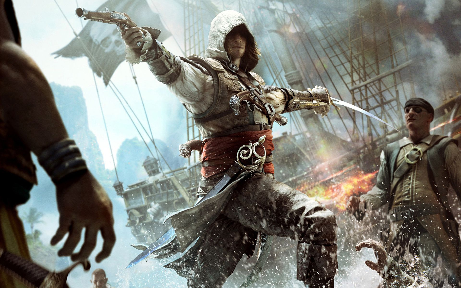 Assassin S Creed Black Flag Wallpapers Top Free Assassin S Creed