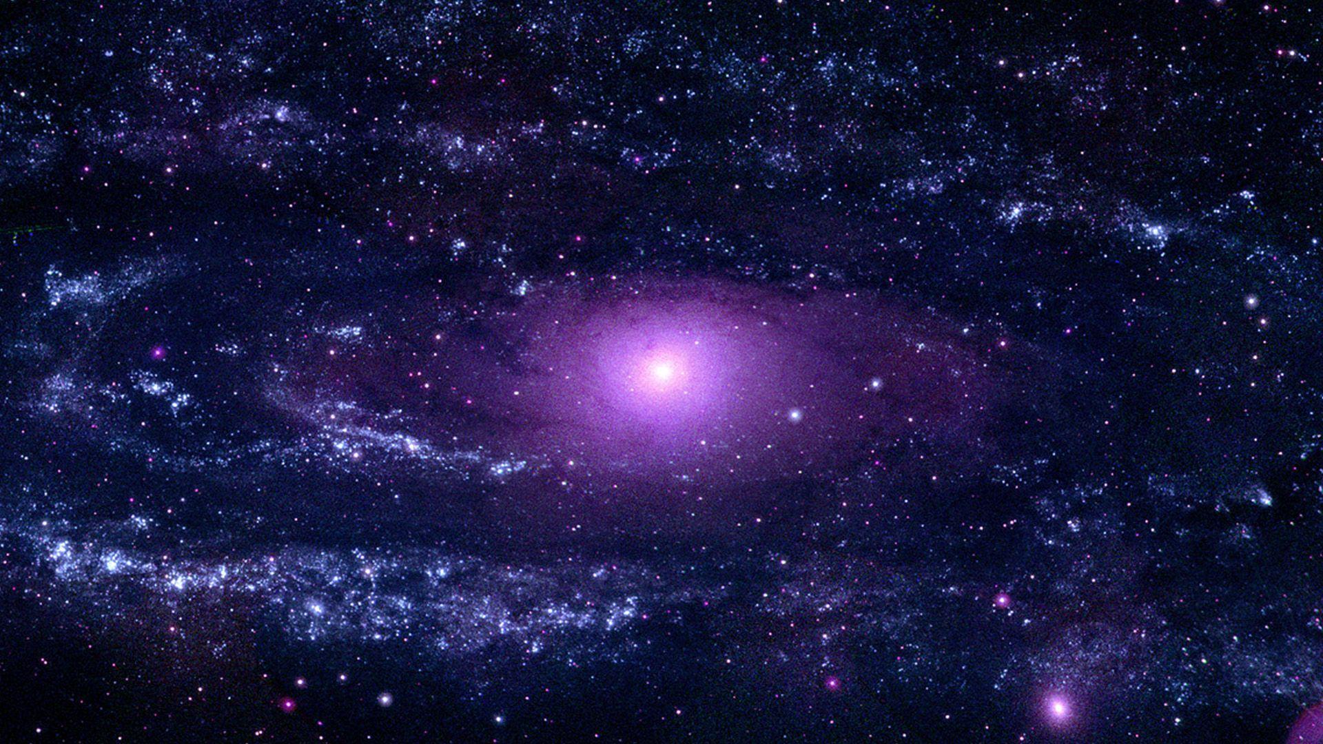 1920x1080 NASA Viz: Thiên hà Tiên nữ